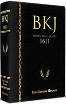 Biblia de Estudo King James 1611 Holman Preta - Bv Books