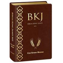 Bíblia De Estudo King James Fiel De 1611 - Holman - Marrom - Editora Bv Books -