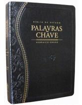 Bíblia De Estudo Palavras Chave - Preta - Editora Cpad -