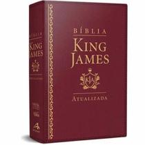 Bíblia de Estudos King james Atualizada - L Grande - Vinho - Art Gospel -