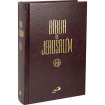 Bíblia de Jerusalém - Média Encadernada - Paulus