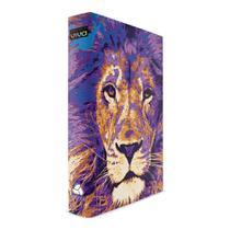 Bíblia do Leão Azul - Capa Dura Luxo - Nova Bíblia Viva - Hagnos