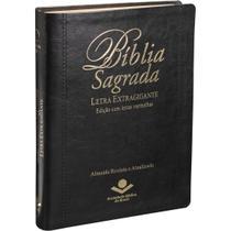 BÍBLIA EXTRA GIGANTE Revista Almeida Atualizada Índice LUXO - Editora Sbb