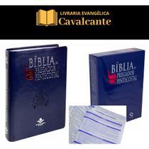 Biblia gigante do Pregador Pentecostal + caixa - Sociedade Bíblica Do Brasil