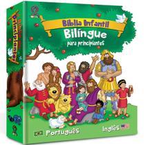 Bíblia Infantil Bilíngue Para Principiantes - Capa Dura Cpad -