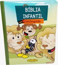 Bíblia Infantil Ilustrada Smilinguido Capa Dura Almofadada - Vida E Luz