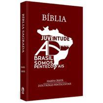 Bíblia juventude AD Brasil somos pentecostais marrom - Cpad