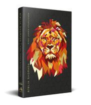 Bíblia King James Atualizada Kja Slim Leão Preto - Art Gospel