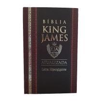 Bíblia King James Atualizada Letra Hipergigante - Capa Dura - Cpp