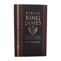 Bíblia King James Atualizada Letra Hipergigante - Capa Dura -