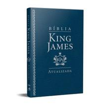 Bíblia King James Atualizada Slim Kja Azul - Art Gospel