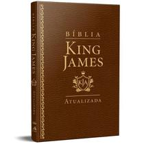 Bíblia King James Atualizada Slim Kja Marrom Luxo - Art Gospel