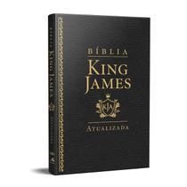 Bíblia King James Atualizada Slim Kja Preta - Art Gospel