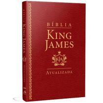Bíblia King James Atualizada Slim   KJA   Vinho - Art Gospel -
