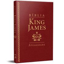 Bíblia King James Atualizada Slim Kja Vinho Luxo - Art Gospel