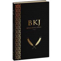 Bíblia King James Fiel 1611 Ultra Fina - Preta - Bvbooks -