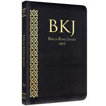 Bíblia king james fiel 1611 - ultrafina (preta) - Bl041