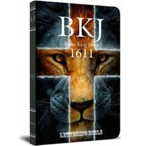 Bíblia King James Ultrafina - Lettering Bible - Leão Cruz -