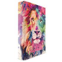 Bíblia Leão Color com Harpa - Capa Dura Luxo - Letra Grande - ARC - Book7