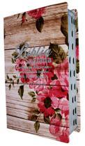 Bíblia Letra Hipergigante Com Harpa - Luxo Romantic Vermelha - Mundial Records