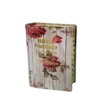 Bíblia Letra Hipergigante Luxo Romantic - C/ Harpa -14x21 cm - Kings Cross