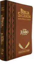 Bíblia Letra Jumbo Com Harpa Avivada e Corinhos - Casa Publicadora Paulista