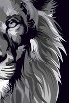 Bíblia nvt lion colors b&w letra normal - Maquinaria Studio