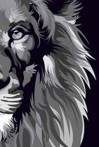 Bíblia nvt lion colors b&w letra normal - Sankto - Biblias