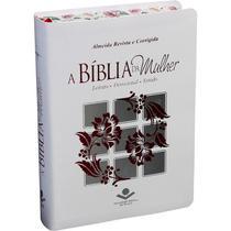 Bíblia RC De Estudo Da Mulher - Média - Branco - 6064 - Sbb