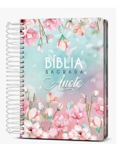 Bíblia Sagrada Anote Magnolia Espiral Nvi - Art Gospel