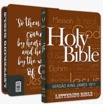 Bíblia Sagrada BKJ 1611 Fiel Capa Holy Bible - Lettering Bib - BVbooks