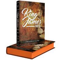 Bíblia Sagrada BKJ King James 1611 com Concordância Pilcrow - Editora Bv Books