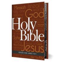 Bíblia Sagrada BKJ King James 1611 com Concordância Pilcrow - Editora Bv Books -
