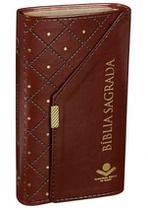 Bíblia Sagrada - Carteira Vinho - Sbb