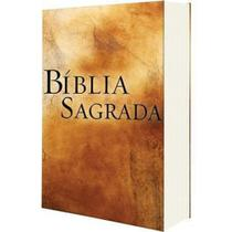 Bíblia Sagrada Cnbb Católica Média Encadernada - Canção nova -
