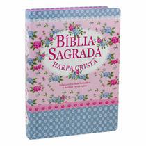 Bíblia Sagrada Com Harpa Cristã - Letra Grande + marca página -