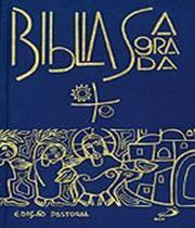 Biblia sagrada - edicao pastoral - capa cristal - Paulus -