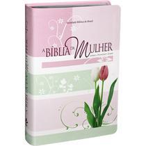 Bíblia sagrada estudo da mulher media almeida atualizada sbb - Editora Sbb