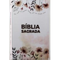 Bíblia Sagrada Garden  Soft Touch  Slim  Letra Normal - Livro Cristão