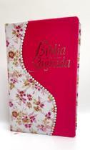 Bíblia Sagrada Glitter strass luxo feminina letra Gigante Harpa e índice - 2 - Casa Publicadora Paulista