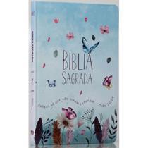 Bíblia Sagrada  Jardim Secreto  Soft Touch  Slim  Letra Normal - Livro Cristão