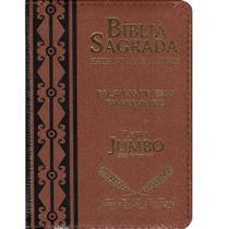 Bíblia Sagrada Jumbo - Marrom - CPP