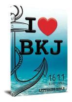 Bíblia Sagrada King James 1611 Lettering Bible Capa Jovem I Love BKJ - Editora Bvbooks