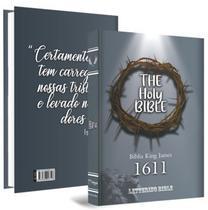 biblia Sagrada king james 1611 Ultrafina Lettering Bible - Bvbooks/Nextbooks