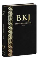 Bíblia Sagrada King James Fiel 1611 Ultrafina (preta) - Bv Books