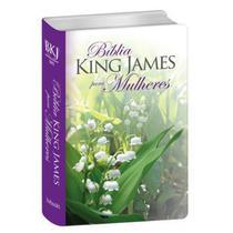 Bíblia Sagrada  King James Para Mulheres  Letra Normal  Luxo  Florida - Bv Books