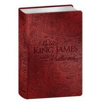 Bíblia Sagrada  King James Para Mulheres  Letra Normal  Luxo  Vermelha - Bv Books