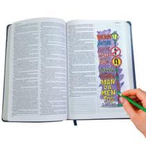 Bíblia Sagrada King James Ultrafina -Lettering Bible Flores -
