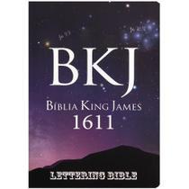 Bíblia Sagrada King James Ultrafina-Lettering Bible Universo -