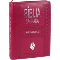 Bíblia Sagrada Letra Extra Gigante, Edição com Letras Vermelhas com Harpa Cristã - Cpad